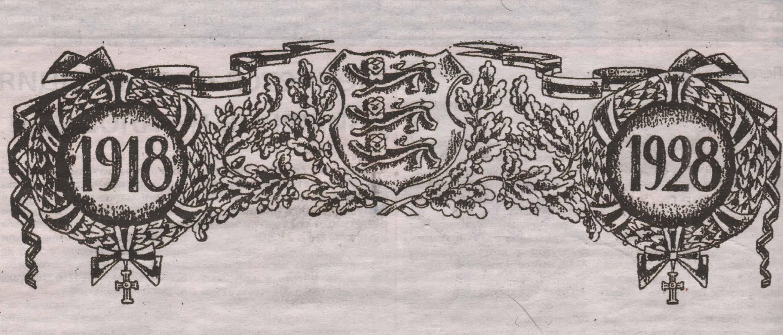 1918 - 1928