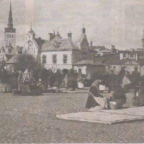 Сложно представить, что сто десять лет назад на месте нынешнего театра «Эстония» и парка Таммсааре стояли крестьянские подводы и шумел рынок.