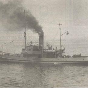«Лайне» — старейший корабль ВМФ Эстонии. Довоенное фото.