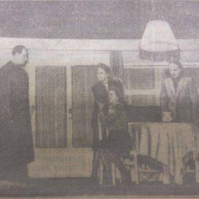 Премьера пьесы «Семья пилотов» на сцене Государственного Русского драматического театра Эстонской ССР. 15 декабря 1948 года.