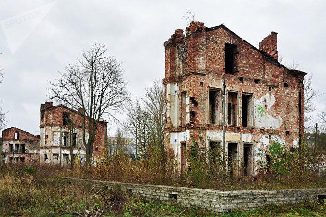 © SPUTNIK / ВАДИМ АНЦУПОВ Это руины бывших зданий в нижней части Копли, которые станут частью новых домов