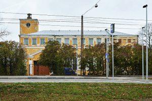 Здание бывшего Коплиского народного дома, в советское время здесь был матросский клуб © SPUTNIK / ВАДИМ АНЦУПОВ