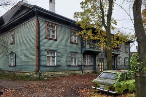 Один из домов в Профессорской деревне в Копли © SPUTNIK / ВАДИМ АНЦУПОВ