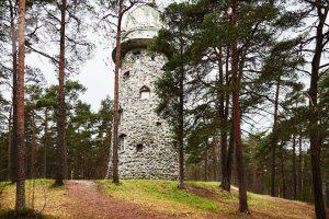 Здание обсерватории в парке Глена. Фото: Дмитрий Анцупов