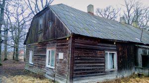 Дом, в котором родились братья Николай и Петр фон Глен, мыза Ялгимяэ, конец XVIII века. Фото из личного архива Дмитрия Унта