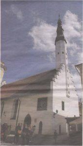 Церковь Святого Духа — со времен Реформации оплот эстонского языка в немецком по духу и языку правящей элиты Ревеле конца Средневековья — начала Нового времени.
