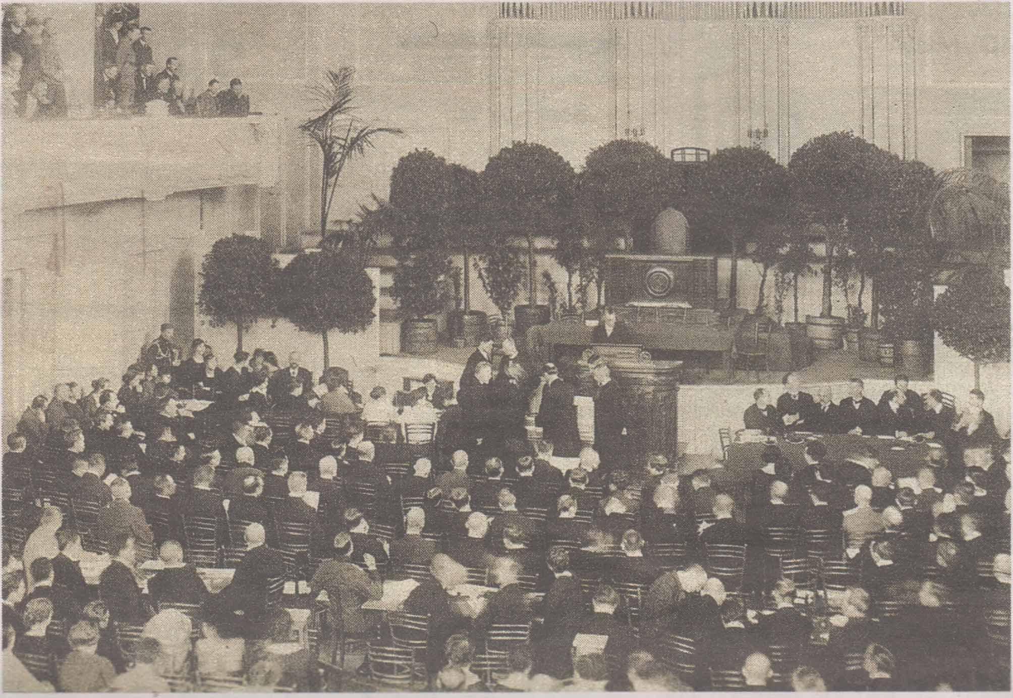 Первая сессия Учредительного собрания Эстонской Республики. 23 апреля 1919 года.