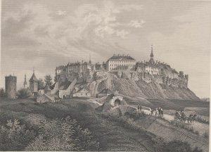Вышгород (Тоомпеа) в Ревеле (Таллине), гравюра Вильгельма Зигфрида Ставенхагена, 1867 год
