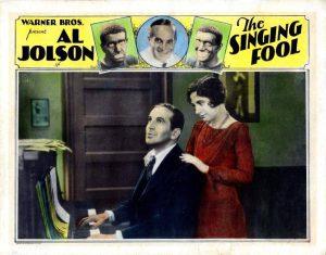 Американская реклама фильма «Поющий шут».