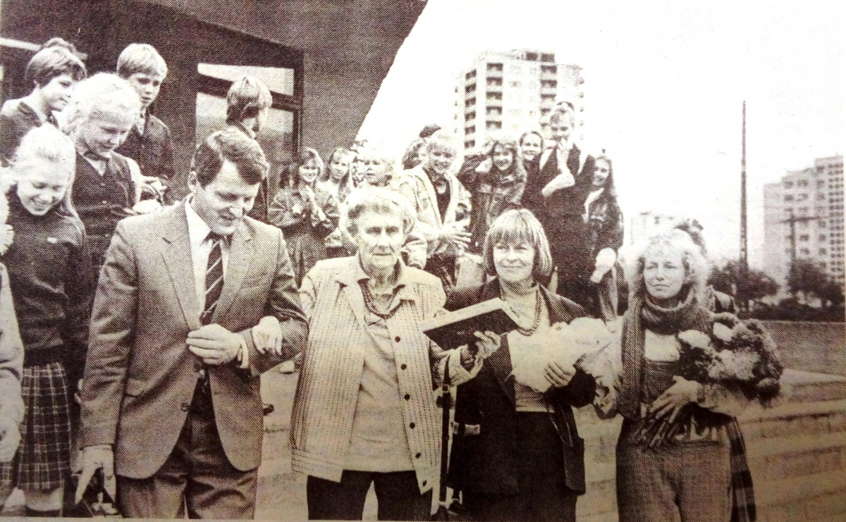 Тридцать лет назад, Астрид Линдгрен можно было запросто встретить в Ыйсмяэ.