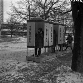 Таксофоны. ФОТО: Lembit Soonpere, Eesti Filmiarhiiv