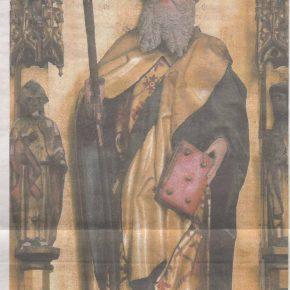 Апостол Фома - Часть алтаря церкви Нигулисте, созданного в последней трети XV века.