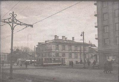 Пересечение бульвара Эстония, Пярнуского шоссе и улицы Татари, каким оно было восемьдесят лет назад. ...