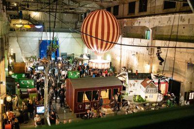 Интерактивная экспозиция в бывшем заводском цехе в наши дни. Арон Урб