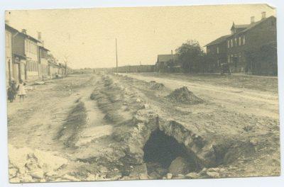 Остатки сводов средневекового ревельского водопровода были различимы на улице Веэренни еще сто с небольшим лет тому назад.