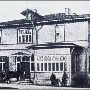 Вилла директора Балтийской мануфактуры. Фото до 1925 года.