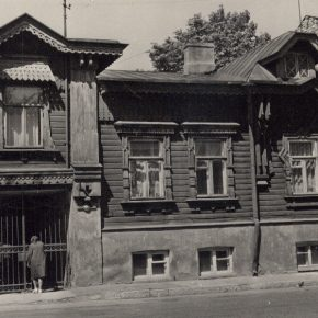 Дом священника Стратановича полвека тому назад.