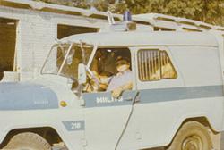 ОБ ППС в Таллине и книга: Телефон милиции:02