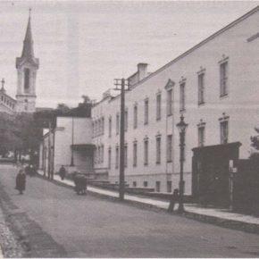 Здание Немецкой реальной школы непосредственно после постройки.
