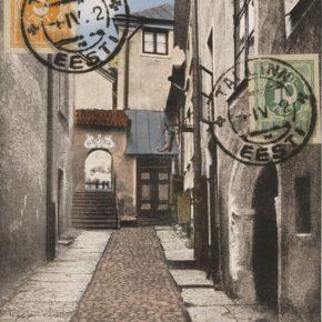 Ворота в конце улицы Трепи на довоенных открытках встречаются часто, но топоним «Ныэласильм» конкретно к ним еще не применялся.