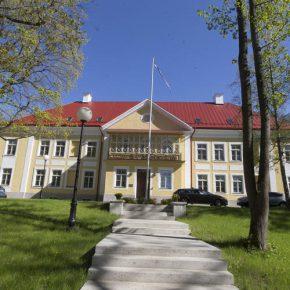Нынешний детский сад «Лотте» в Кадриорге – помещения ситцевой мануфактуры Х. Фрезе.