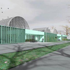 Новая кадриоргская оранжерея в представлении ее архитекторов.