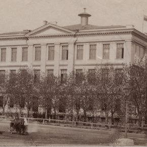 Петровское реальное училище, ныне – Таллиннская реальная школа: первое в городе здание, построенное специально для нужд учебного заведения.